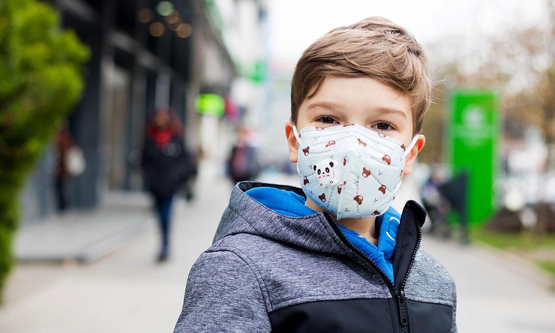 Las mascarillas FFP2, ¿son seguras para los niños?