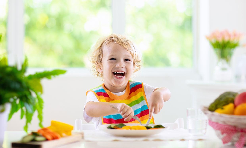 ¿Cómo influye en la salud de los niños la dieta vegetariana?