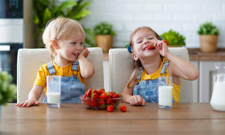 Alimentos que no pueden faltar en el menú de tu hijo