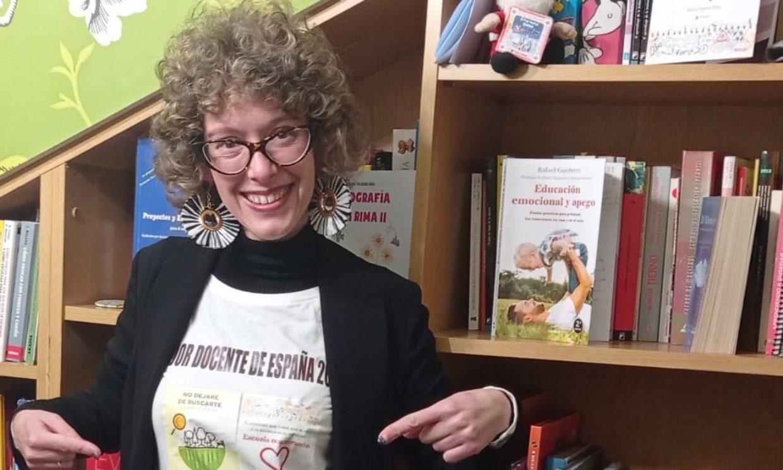 Una 'escuela de corazón', así es la educación que defiende la mejor profesora de España
