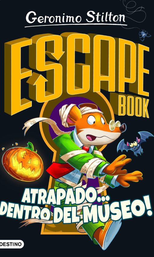 Escape book. Atrapado…¡dentro del museo!