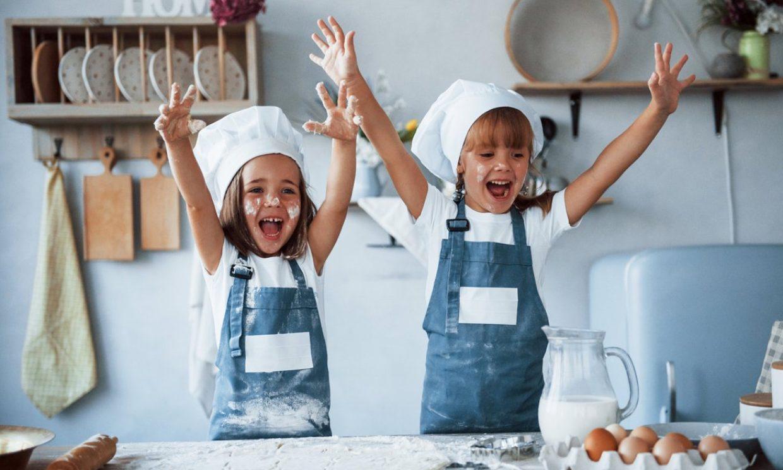 Estimula la autonomía de tus hijos desde la cocina