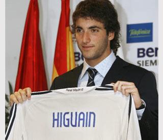 Gonzalo Higuaín, nuevo jugador del Real Madrid