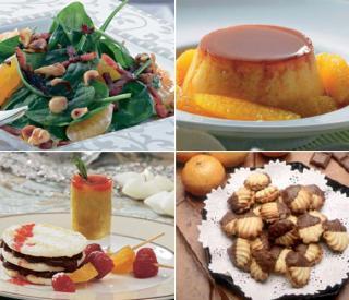 platos dulces y salados con sabor a mandarina noticias