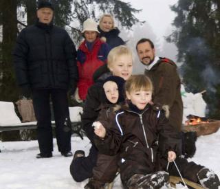 Las imágenes más navideñas de la familia Real Noruega