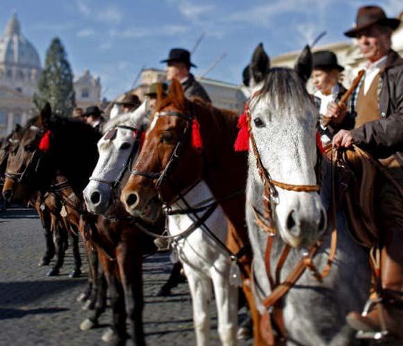 Los animales celebran en todo el mundo el día de San Antón