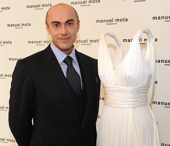Manuel Mota: 'La novia es lo más cercano a la Alta Costura'