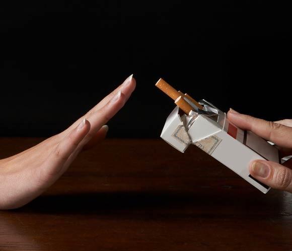 Que hay con la persona quien ha dejado a fumar