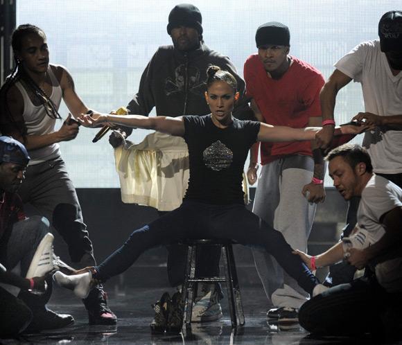 Jennifer López ultima los detalles de su actuación en los American Music Awards