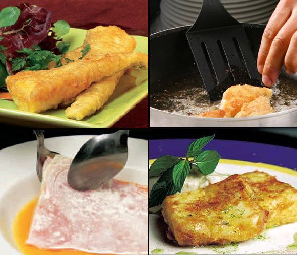Trucos de cocina todos los secretos para un buen rebozado for Videos de cocina para todos