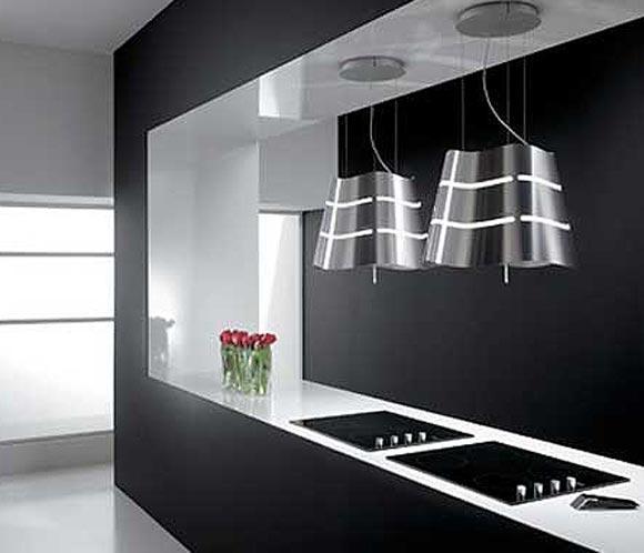 Campanas extractoras que decoran tu cocina noticias - Extractoras de cocina ...