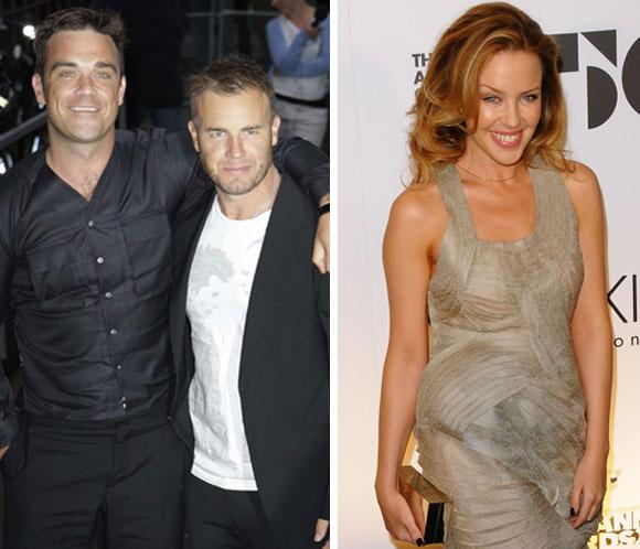 ¿Se van de gira Take That y Kylie Minogue?