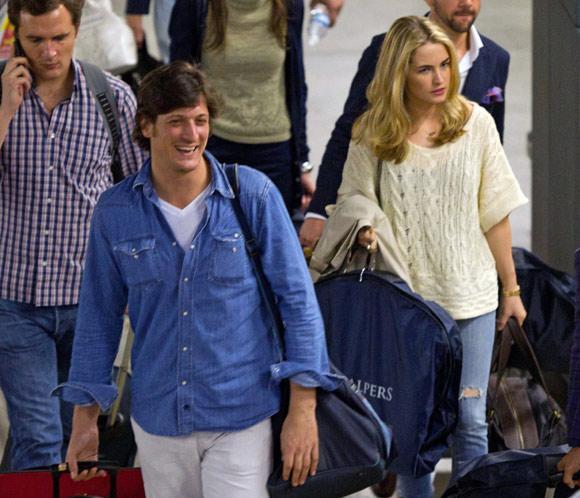 Luis Medina y Amanda Hearst viajan hasta Sevilla para disfrutar de su    Luis Medina Amanda Hearst