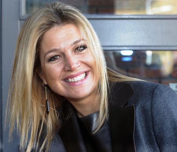 Maxima de Holanda visita una cárcel de mujeres