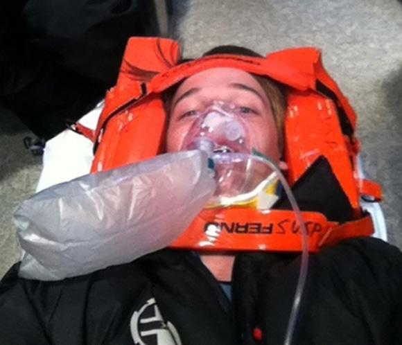 Patrick, hijo de Arnold Schwarzenegger y María Shriver, hospitalizado tras sufrir un accidente de esquí