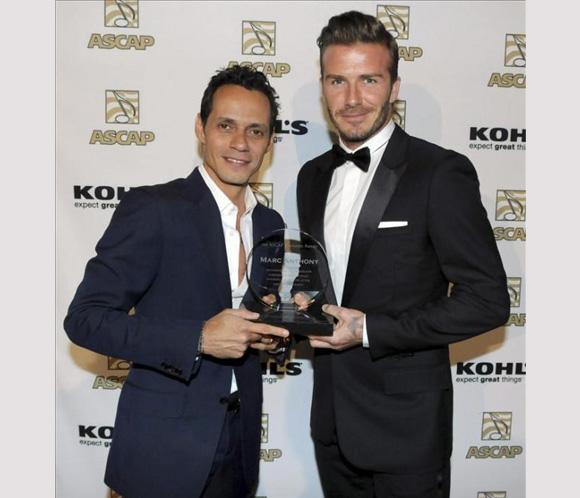 ¿Cuánto mide Marc Anthony? - Altura - Real height Marc-beckham1