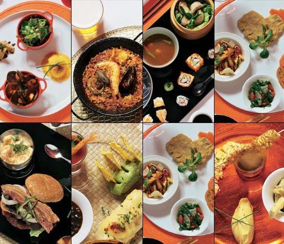 Cocina internacional la vuelta al mundo en ocho platos for Cocina moderna tipo buffet