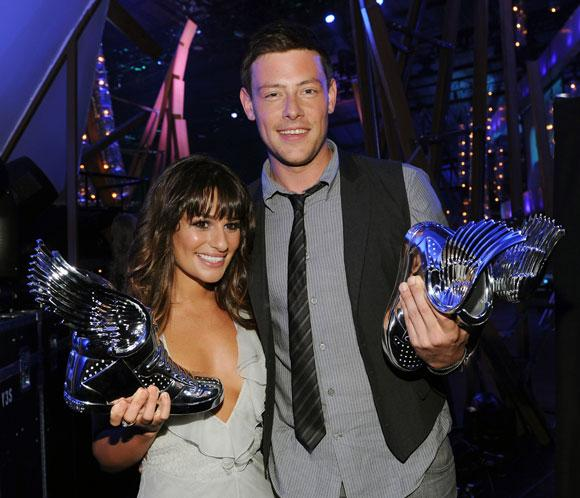 Lea Michele y su novio, Cory Monteith, triunfan en los premios Do Something