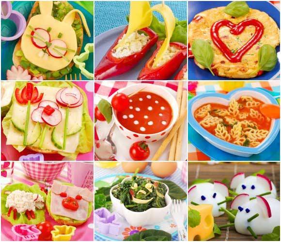 Doce ideas para hacer los platos de los niños más apetitosos ...