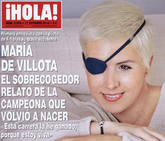 En ¡HOLA!, primera entrevista con María de Villotatras su grave accidente
