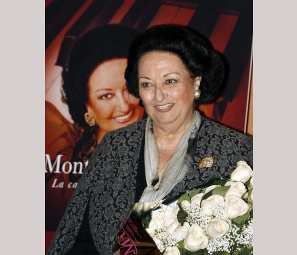 Montserrat Caballé recibe el alta hospitalaria