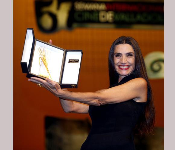 Ángela Molina y Enrique Urbizu, premiados en el Festival de Cine de Zaragoza