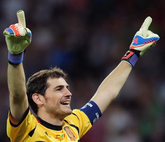 Mariano Rajoy: 'Daría el Balón de oro a Iker Casillas'