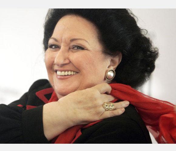Montserrat Caballé suspende su actividad artística durante tres meses