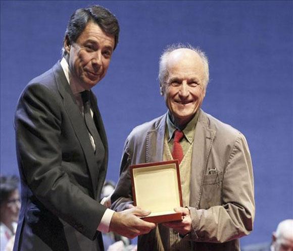 Antonio López, 'embajador' y Medalla Internacional de las Artes de Madrid