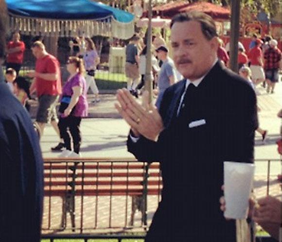 La imagen más fantástica de Tom Hanks: Walt Disney