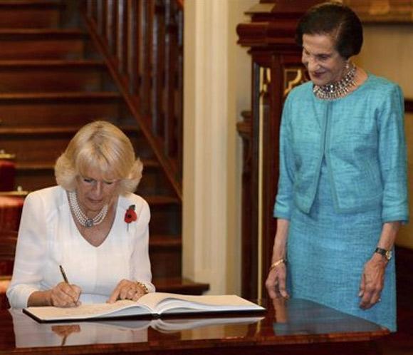 La duquesa de Cornualles es nombrada coronel en jefe de la Policía Militar de Australia