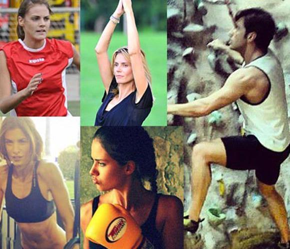 Yoga, boxeo, hípica, fútbol... Descubre los deportes favoritos de los famosos