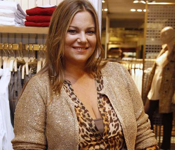 Caritina Goyanes, embarazada de su segundo hijo