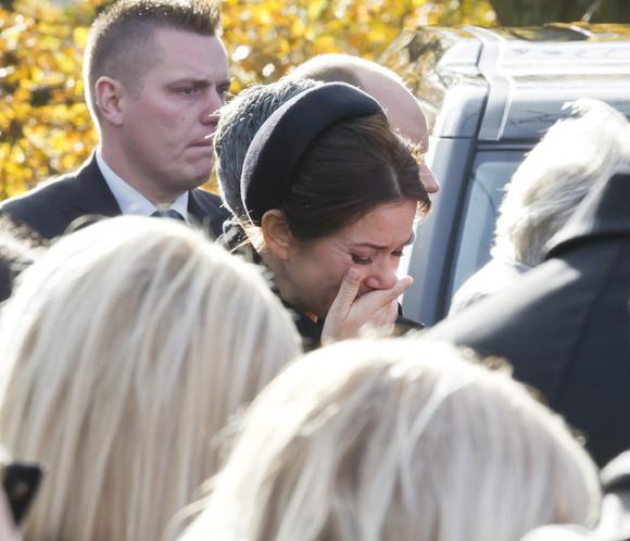 Mary de Dinamarca, desolada en el funeral de su ayuda de cámara