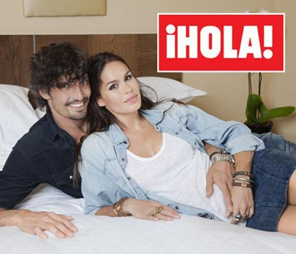 Exclusiva en ¡HOLA!, Mireia Canalda y Felipe López están esperando su primer hijo