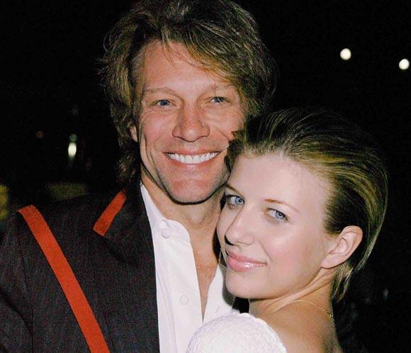 Jon Bon Jovi, preocupado por la salud de su hija Stephanie ingresada por sobredosis