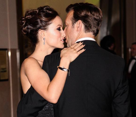Olivia Wilde y Jason Sudeikis, todo amor en una gala en Nueva York
