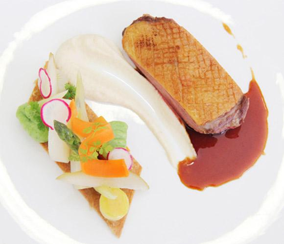 Las recetas de 'Le Cordon Bleu': Magret de pato en salsa de miel y especias