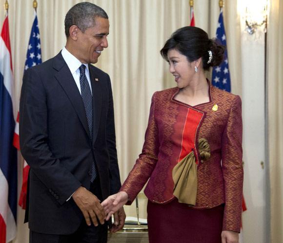 Obama inicia en Tailandia una visita por el Sudeste de Asia tras ser reelegido presidente