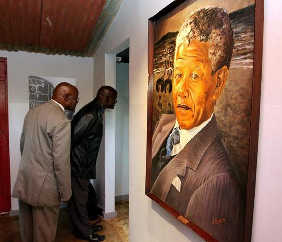 Subastan en Sudáfrica una fotografía de Nelson Mandela tomada en 1952