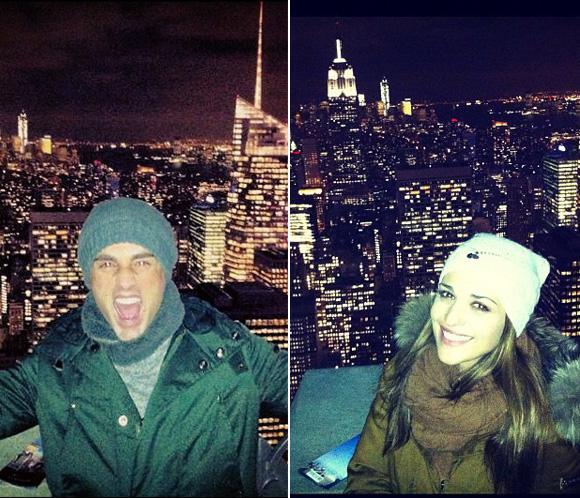 David Bustamante y Paula Echevarría, romántico viaje a Nueva York