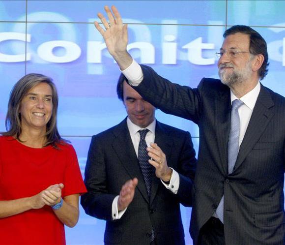 Rajoy cumple un año en el Gobierno sin actos conmemorativos