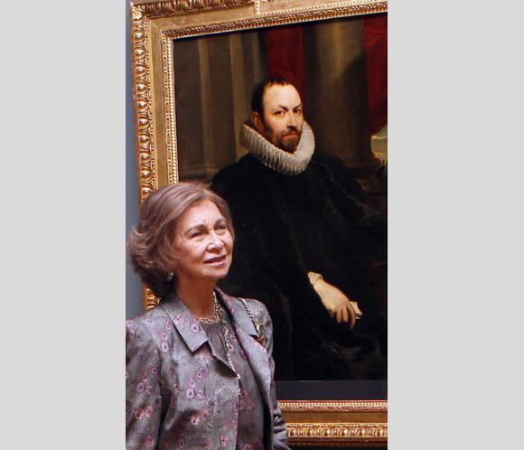 Doña Sofía inaugura 'El joven Van Dyck', la nueva exposición del Padro