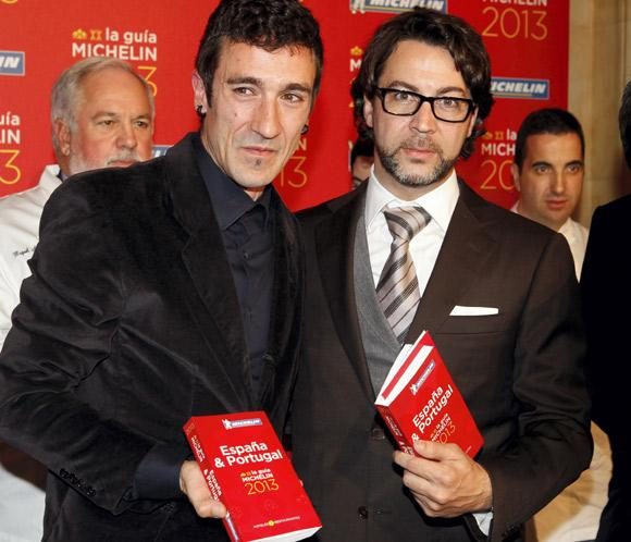 Tercera estrella Michelin para los restaurantes 'Azurmendi' y 'Quique Dacosta'