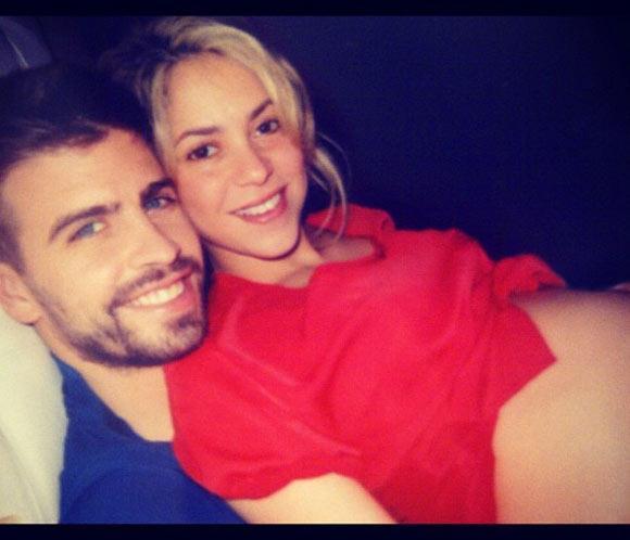 Shakira confiesa: 'Podría estar nueve meses más así'