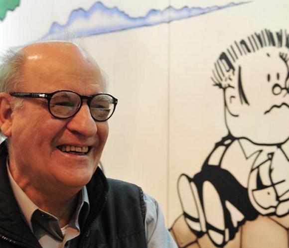 Quino, creador de 'Mafalda', recibe la medalla de las Artes y las Letras de Francia