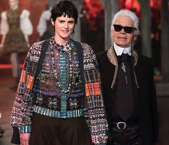 Karl Lagerfeld presenta para Chanel la colección 'Métiers d'Art' 2012/2013