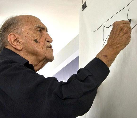 El velatorio de Niemeyer, abierto al público en Río de Janeiro