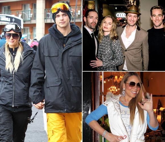 Paris Hilton,Mariah Carey, Kate Bosworth... ¡todos a esquiar a Aspen!