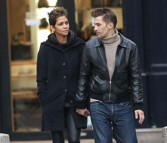 Halle Berry y Olivier Martínez, romántica escapada navideña a París